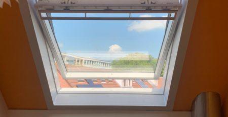 Nieuw VELUX dakraam geplaatst in Leiden